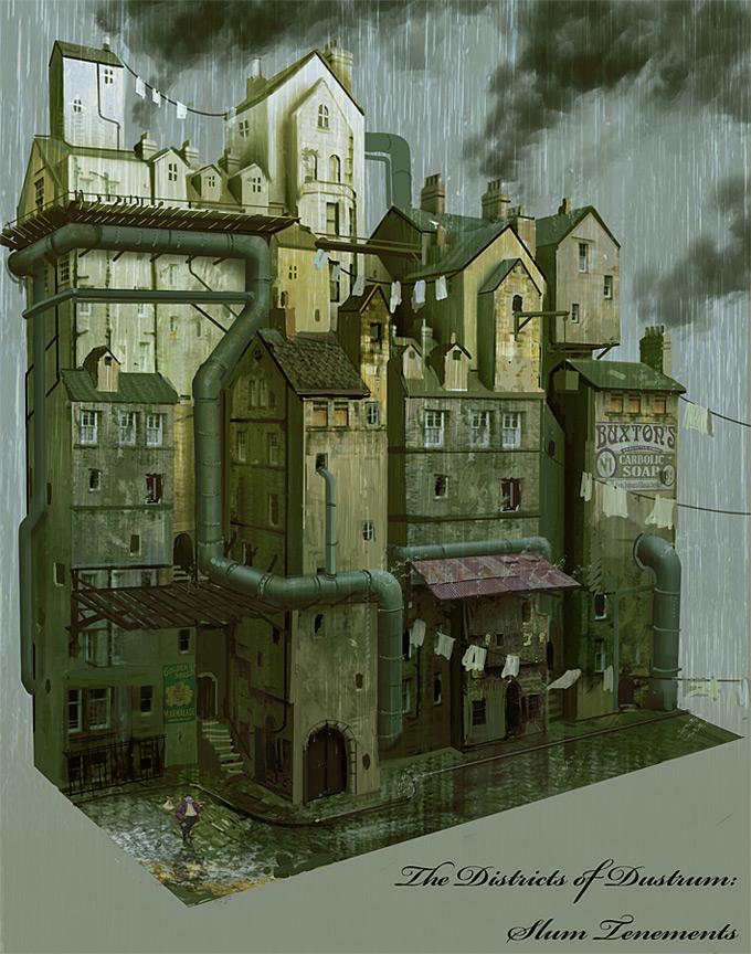 Nick Carver Concept Art and Illustration