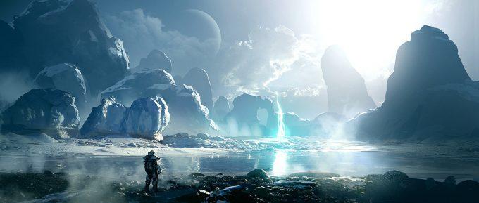 layne johnson concept art iceworld