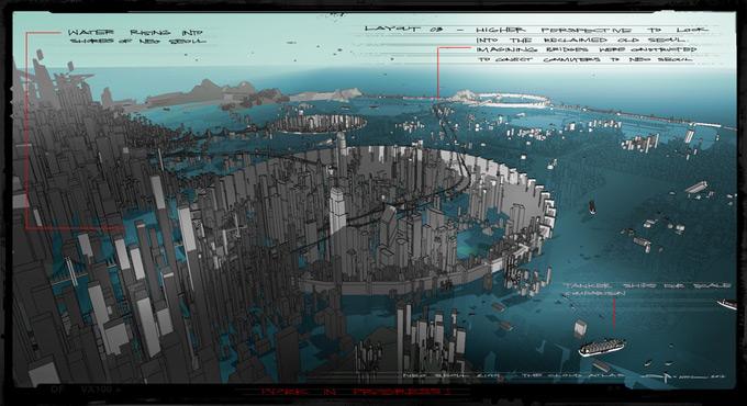 Cloud Atlas Concept Art by George Hull