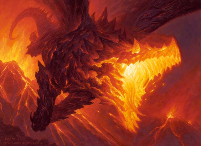 Dragon Concept Art by Christopher Rahn