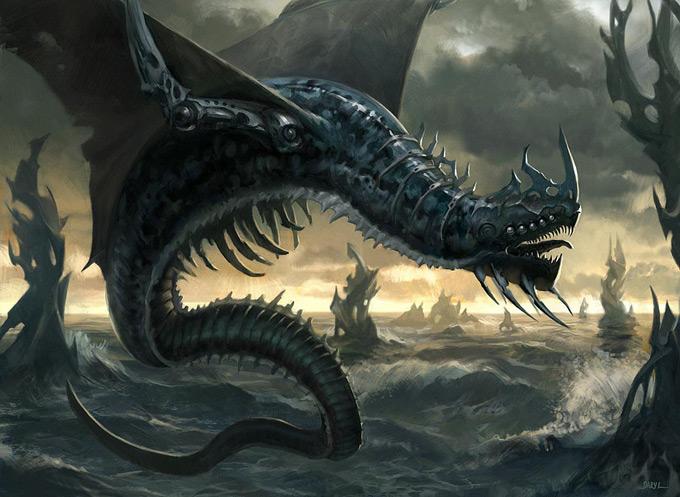 Dragon Concept Art by Daniel Ljunggren