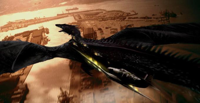 Dragon Concept Art by Matt Codd