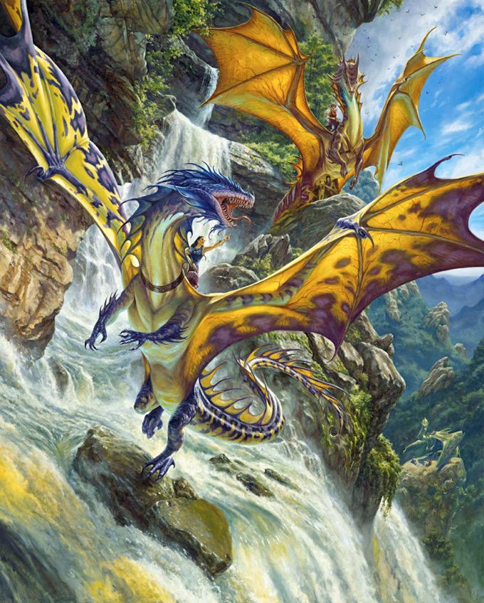Dragon Concept Art by Matt Stewart