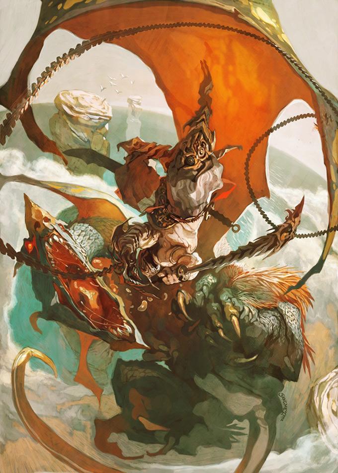 Dragon Concept Art by Reynan Sanchez