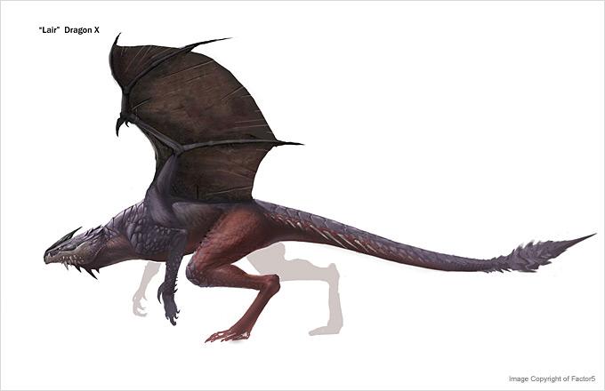 Dragon Concept Art by Steve Hui