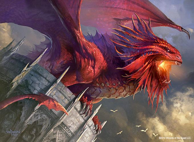 Dragon Concept Art by Svetlin Velinov