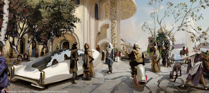 Nikolay Yeliseyev Concept Art and Illustration
