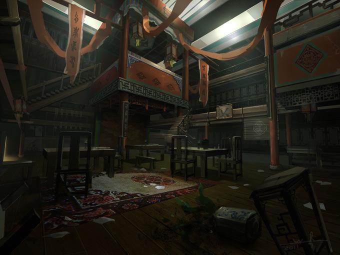 Wang Rui Concept Art and Illustration