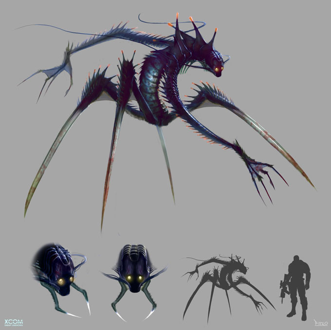 XCOM: Enemy Unknown Concept Art by Piero Macgowan