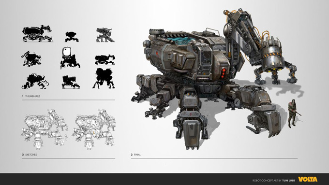 Yun Ling Concept Art and Illustration
