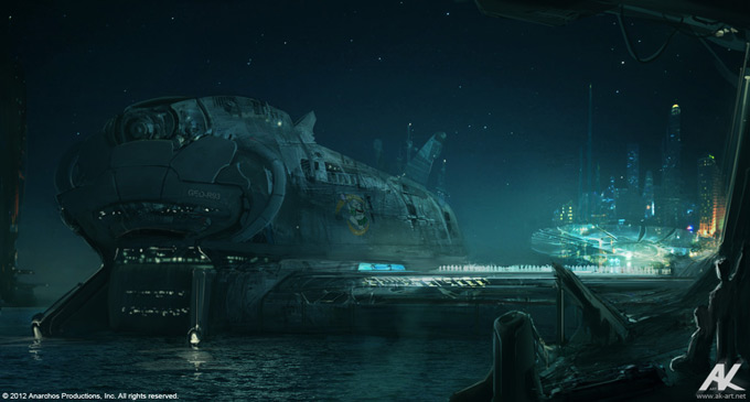 Cloud Atlas Concept Art by Adam Kuczek