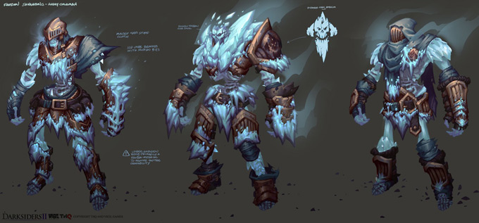 Darksiders 2 Concept Art by Avery Coleman