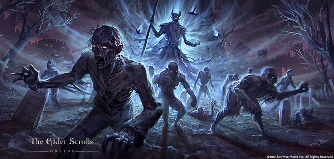 The Elder Scrolls Online Concept Art by Jeremy Fenske