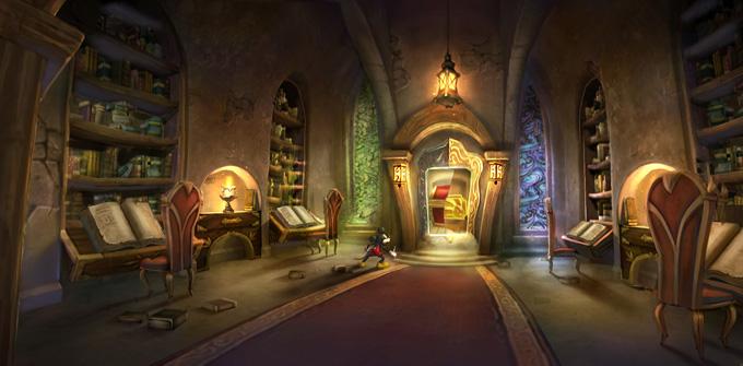 Epic Mickey 2 Concept Art by Jordan Lamarre-Wan