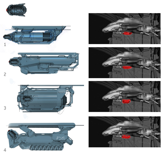Halo 4 Conept Art by Paul Richards