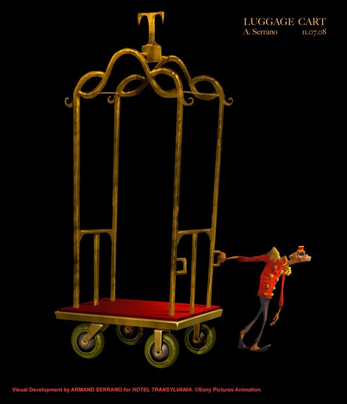 Hotel Transylvania Concept Art by Armand Serrano