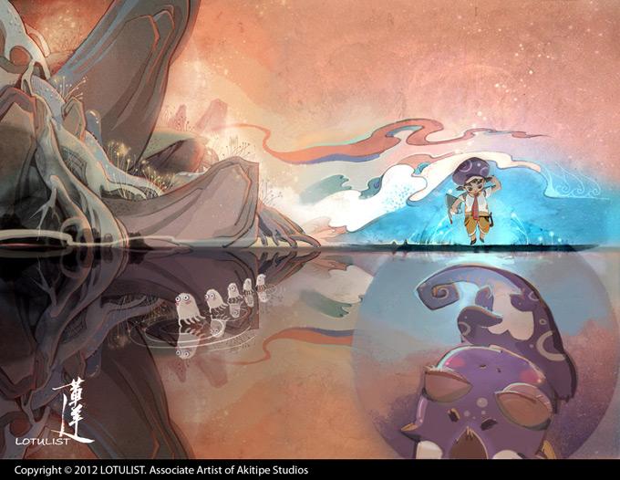 Wu Yang(Lotuslist) Illustration - Akitipe Studios