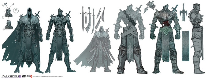 Darksiders II Concept Art by Nick Southam