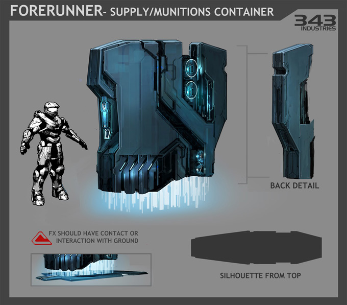 Halo 4 Concept Art by Kory Lynn Hubbell