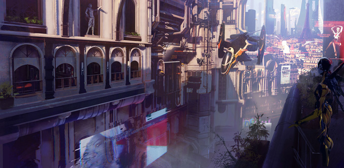 Remember Me Concept Art by Paul Chadeisson