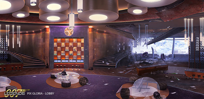 007 Legends Concept Art by Jeremy Love