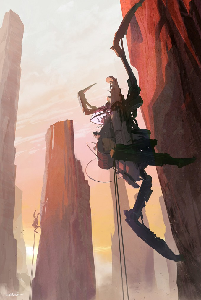 Donovan_Valdes_Concept_Art_Illustration_27_cliff-crawler-01b-dv