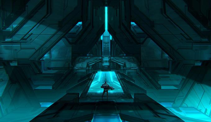 Halo 4 Concept Art by Tom Scholes