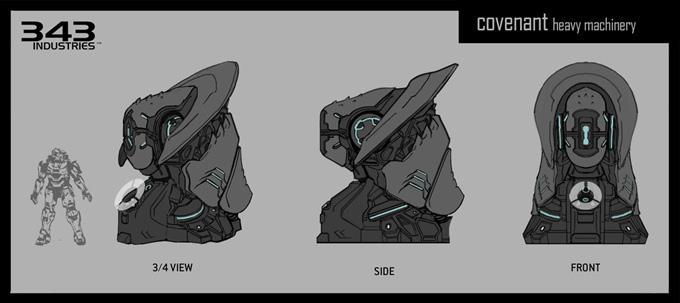 Halo 4 Concept Art by Albert Ng