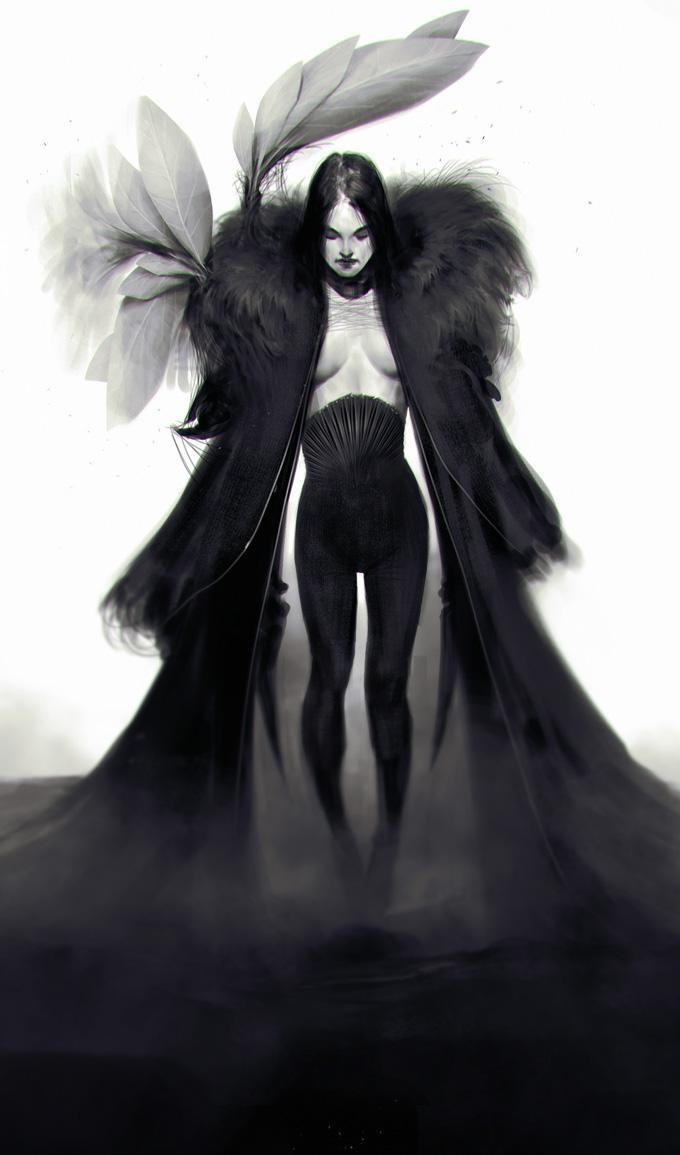Heavens Hell Art by Anthony Jones