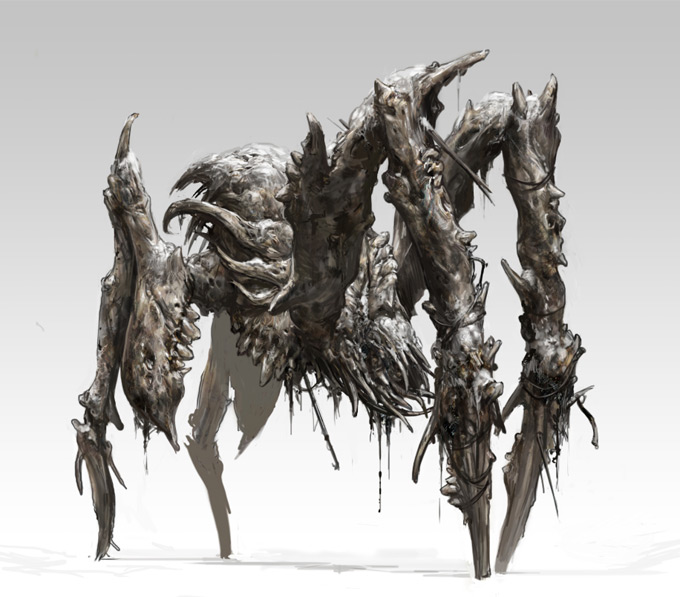 Official Dead Space 3 Concept Art