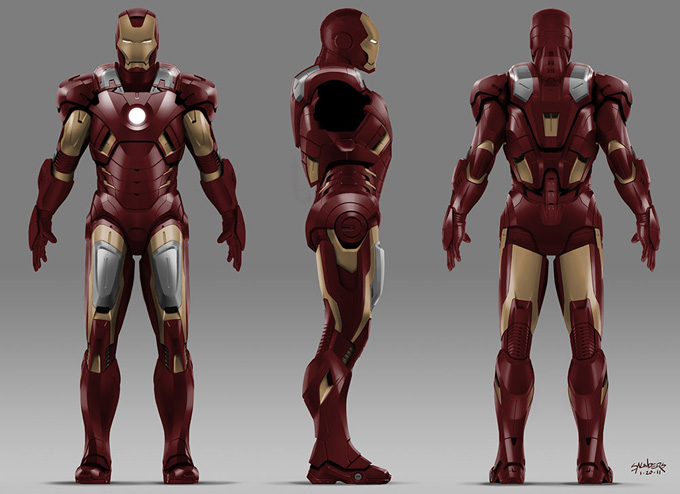 The Avengers Concept Art by Phil Saunders