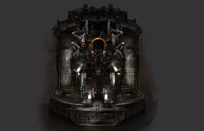 Dead Space 3 Concept Art by Jens Holdener