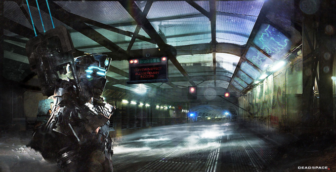 Dead Space 3 Concept Art by Joseph Cross