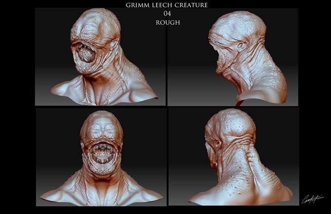 GRIMM Season 2 Concept Art by Constantine Sekeris