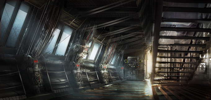 Dead Space 3 Concept Art by Patrick O'keefe