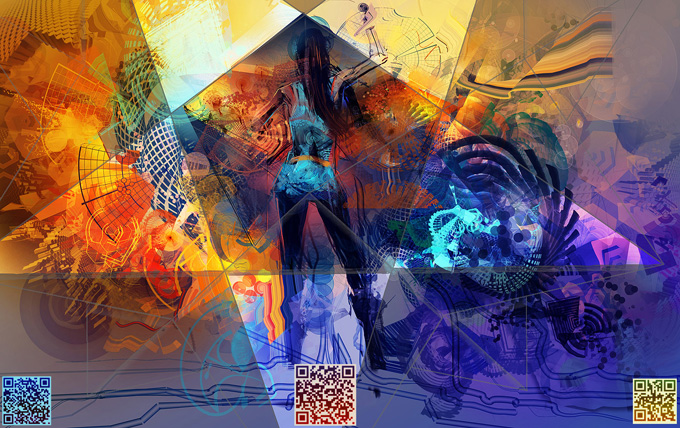 Live Digital Art Workshops with Android Jones