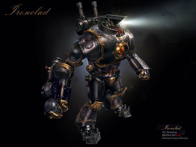Robot Concept Art by Christian Lorenz Scheurer