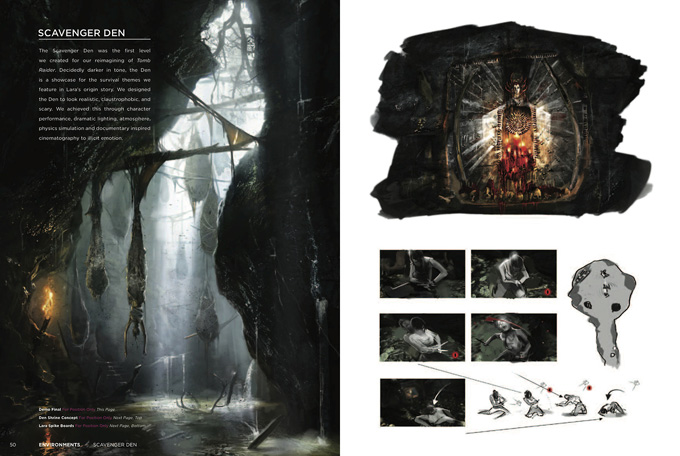 Tomb Raider - The Art of Survival Concept Art