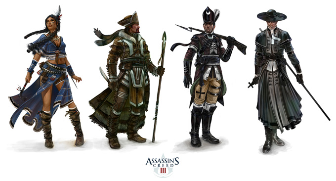 Assassin's Creed III Antoine Rol