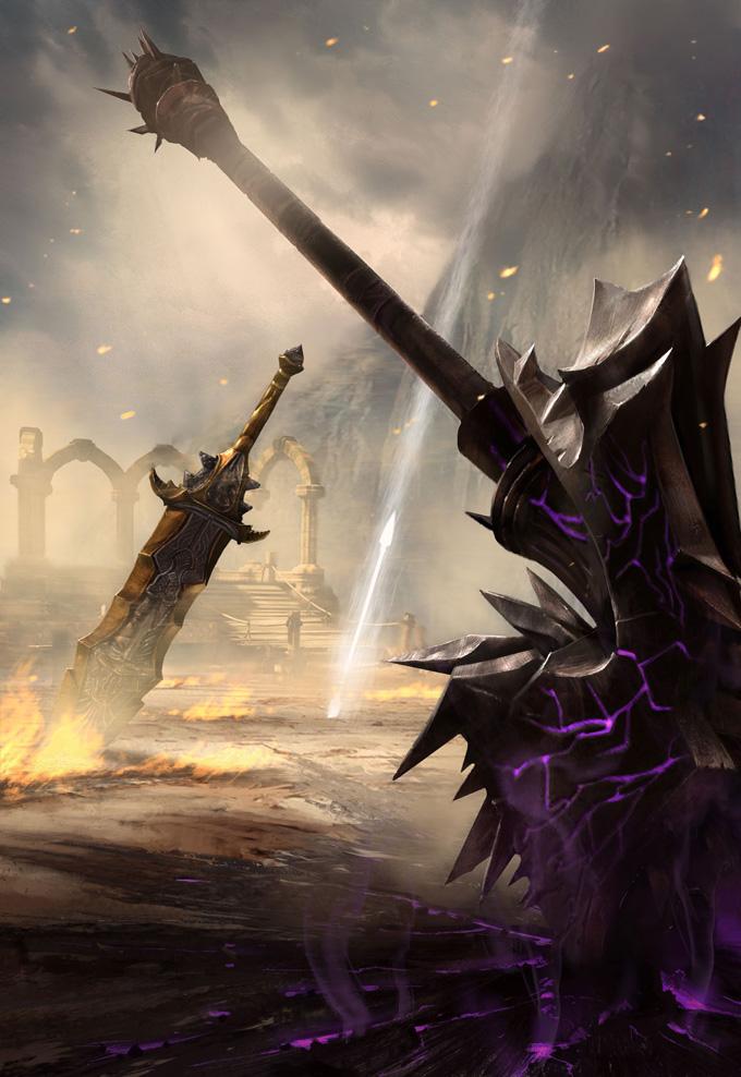 God of War: Ascension Concept Art