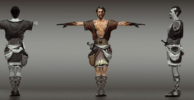 God of War: Ascension Concept Art by Anthony Jones