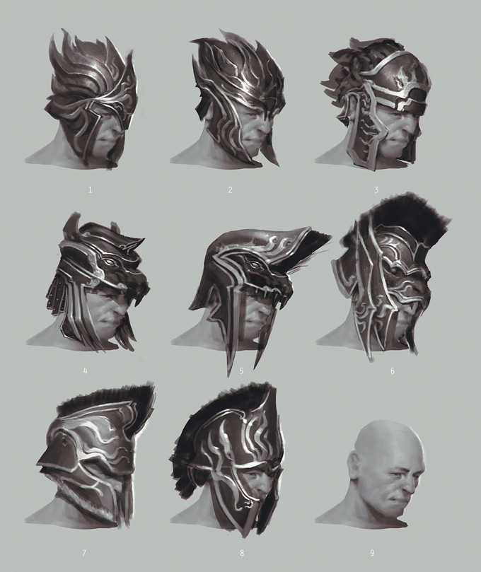 God of War: Ascension Concept Art by Anthony Jones