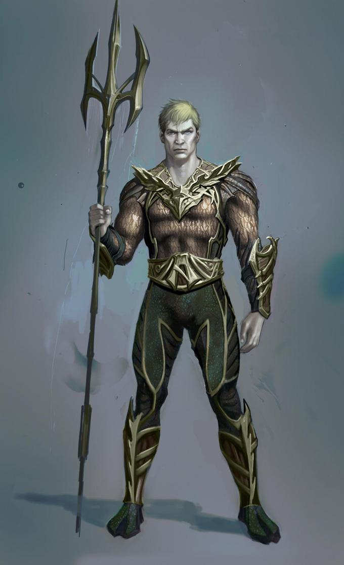 Injustice: Gods Among Us Concept Art Aquaman