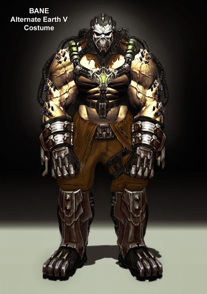 Injustice: Gods Among Us Bane Concept Art