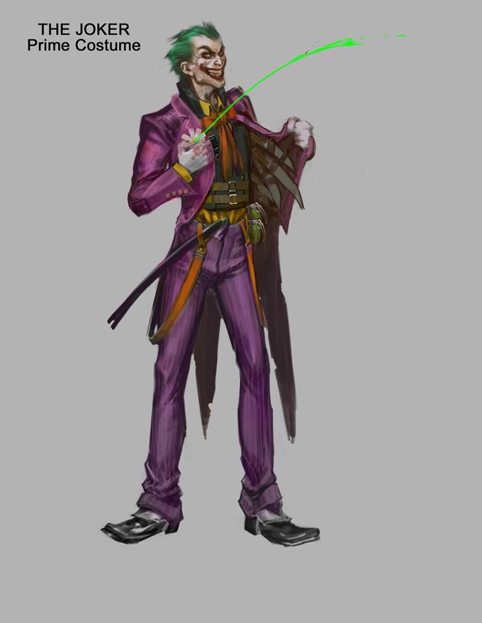 Injustice: Gods Among Us Concept Art The Joker