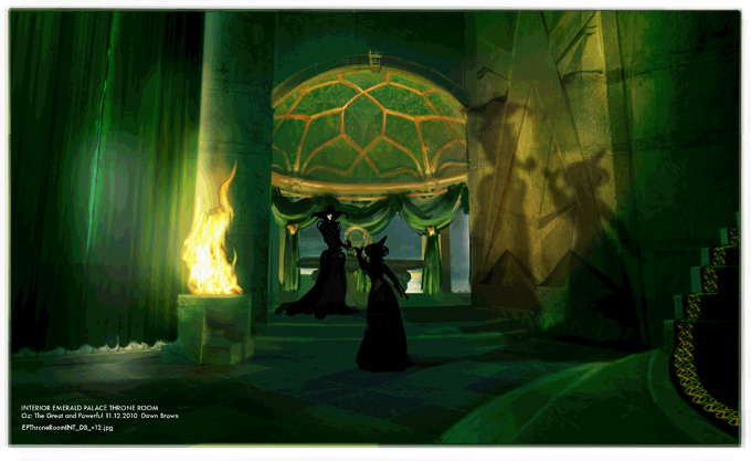 Oz the Great and Powerful Concept Art by Dawn Brown