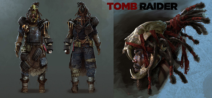 Tomb Raider Concept Art by Arman Akopian