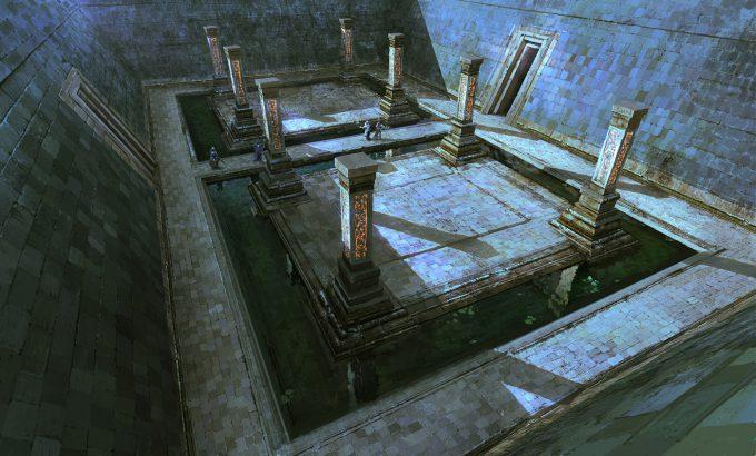 raphael lubke concept art hibernian temple