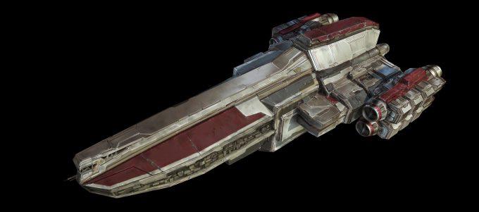 raphael lubke concept art spaceship 4k