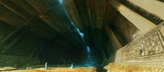 raphael lubke concept art temple